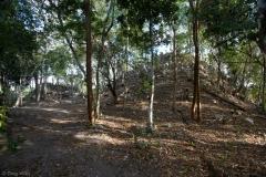 Los Monos pyramid, Mirador